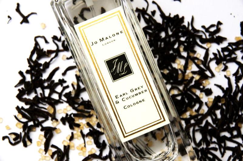 perfumy ozapachu czarnej herbaty, Jo Malone Earl Grey and Cucumber