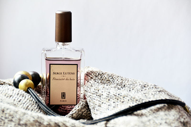 Serge Lutens Feminite du Bois / przytulne perfumy nazimę