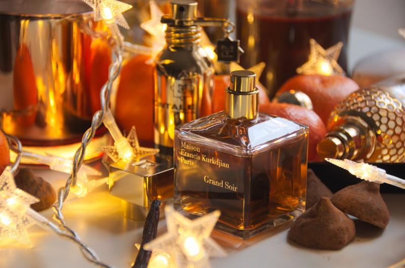 perfumy ozapachu świąt bożego narodzenia
