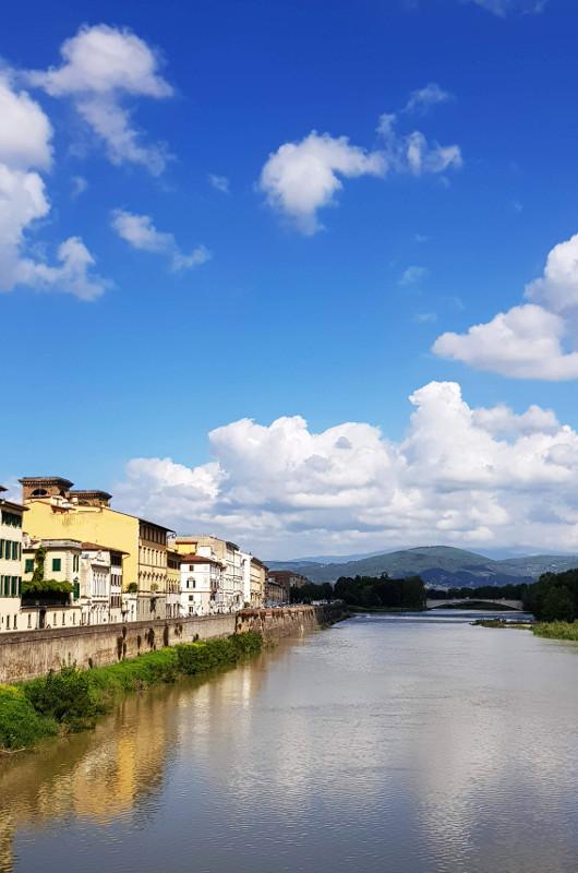 Florencja rzeka Arno