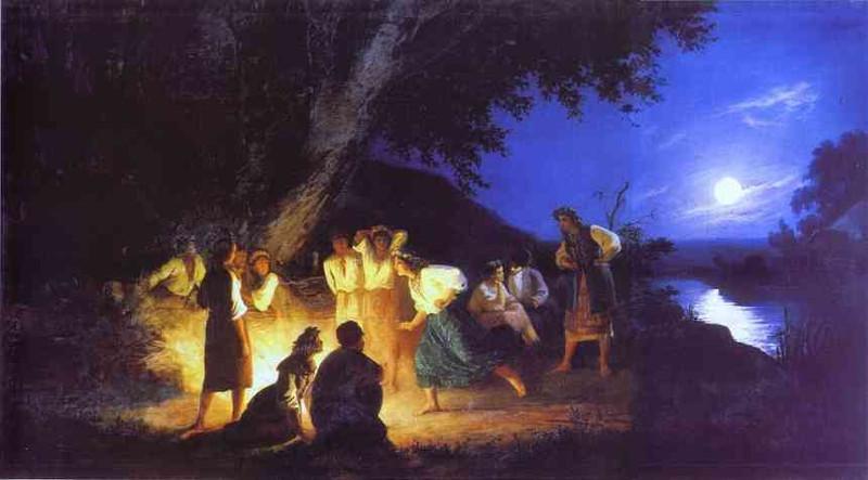 Henryk Siemiradzki, Noc świętojańska, 1892