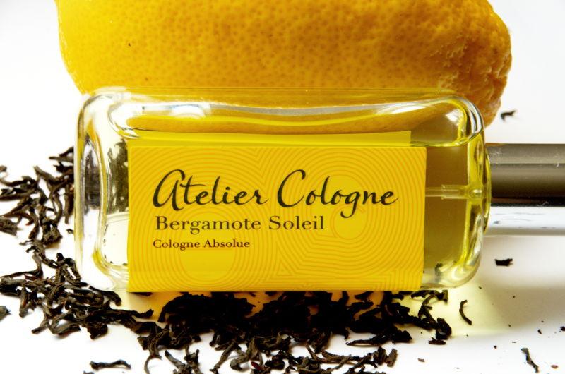 perfumy ozapachu czarnej herbaty, Atelier Cologne Bergamote Soleil
