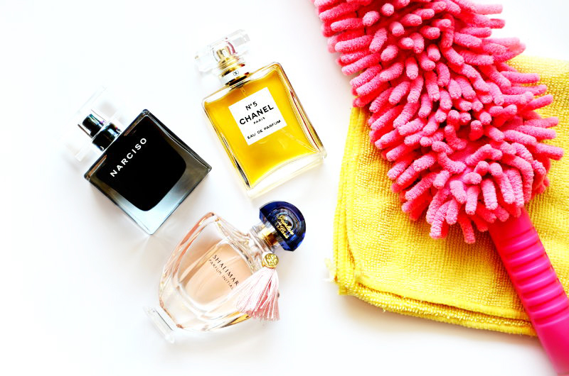 Porządki wkolekcji perfum