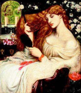 Yves Saint Laurent Belle d'Opium recenzja / obraz Dante Gabriel Rossetti, Lady Lilith